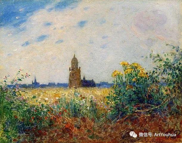 后印象派 法国画家Ferdinand Loyen du Puigaudeau插图7