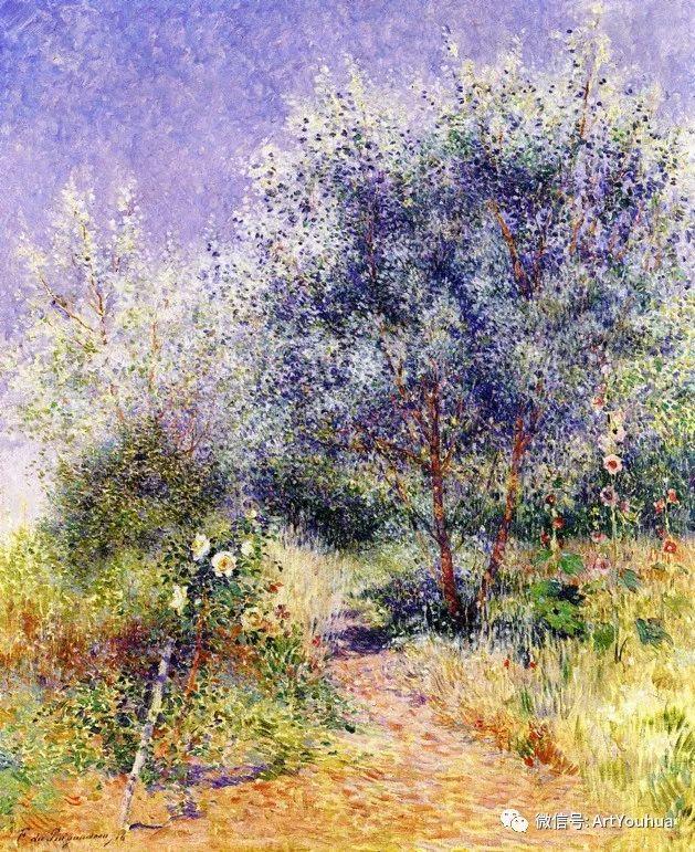 后印象派 法国画家Ferdinand Loyen du Puigaudeau插图13