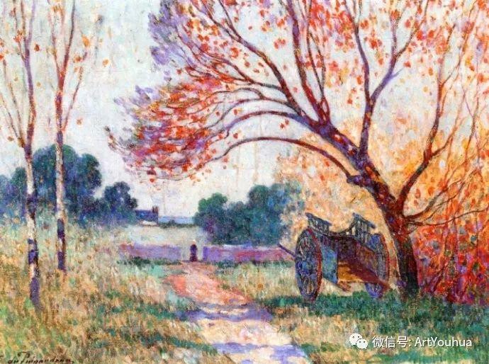 后印象派 法国画家Ferdinand Loyen du Puigaudeau插图15