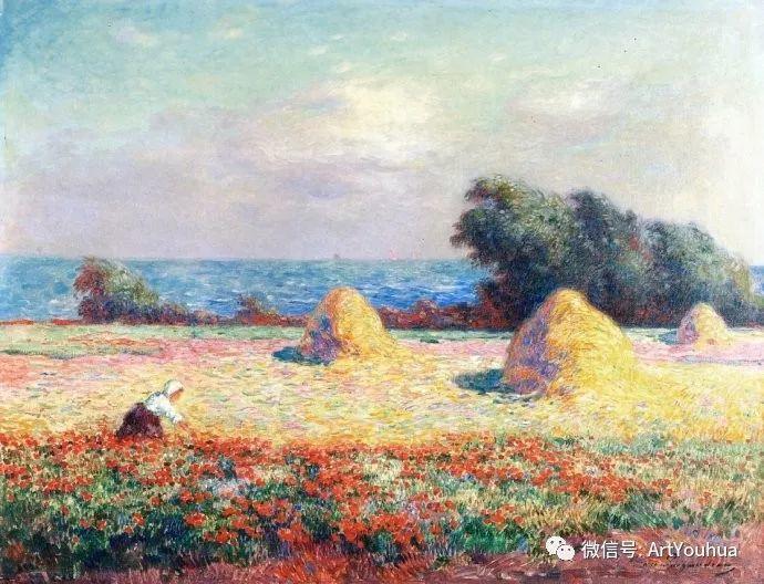 后印象派 法国画家Ferdinand Loyen du Puigaudeau插图17