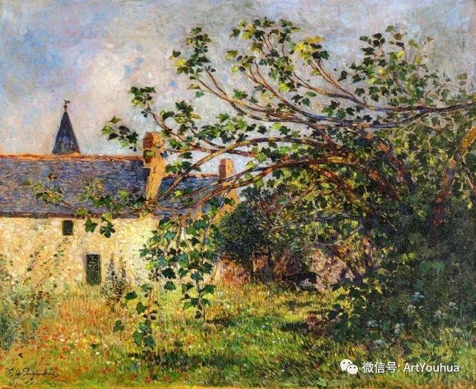 后印象派 法国画家Ferdinand Loyen du Puigaudeau插图21