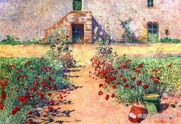 后印象派 法国画家Ferdinand Loyen du Puigaudeau插图23