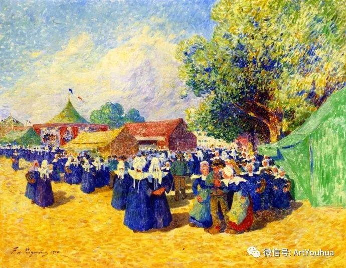 后印象派 法国画家Ferdinand Loyen du Puigaudeau插图25