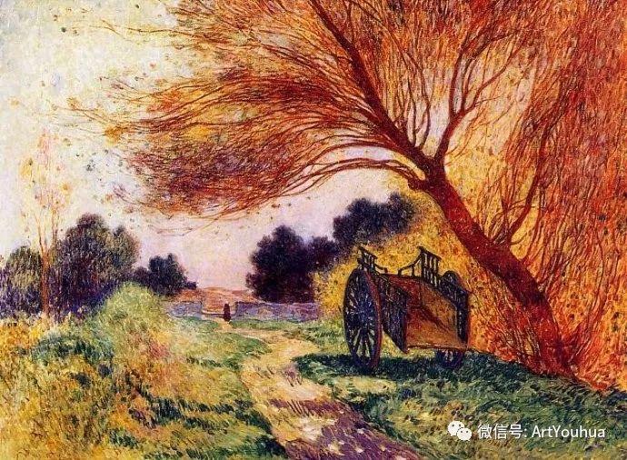 后印象派 法国画家Ferdinand Loyen du Puigaudeau插图29