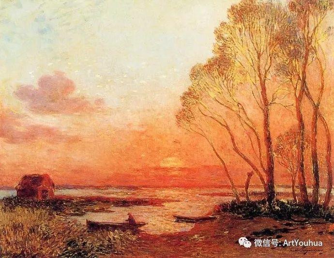 后印象派 法国画家Ferdinand Loyen du Puigaudeau插图31
