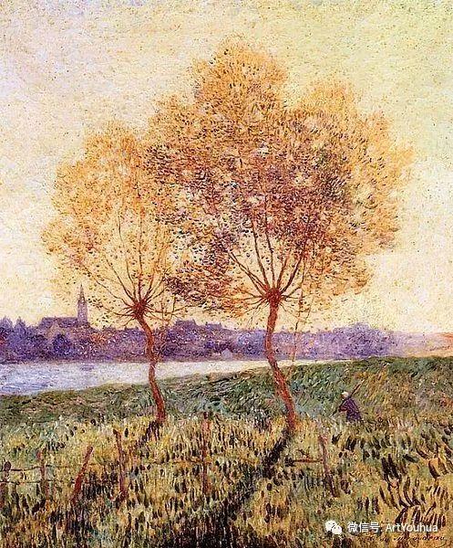 后印象派 法国画家Ferdinand Loyen du Puigaudeau插图35