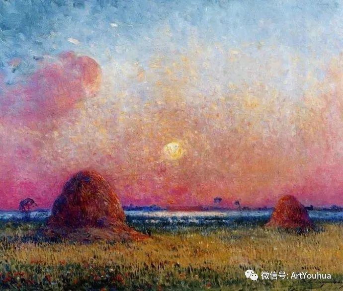 后印象派 法国画家Ferdinand Loyen du Puigaudeau插图37
