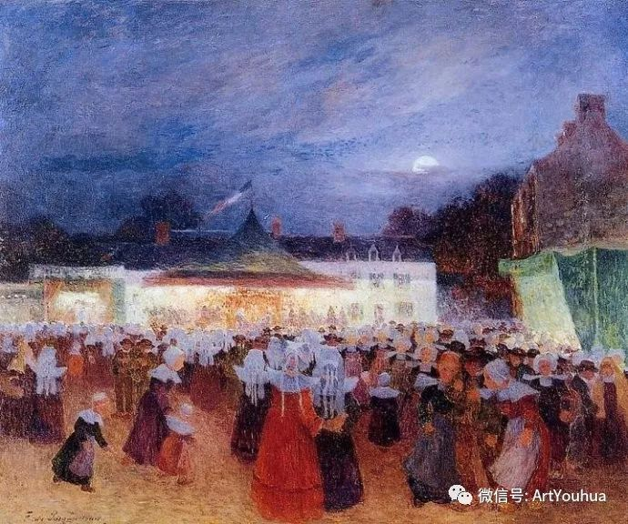 后印象派 法国画家Ferdinand Loyen du Puigaudeau插图39
