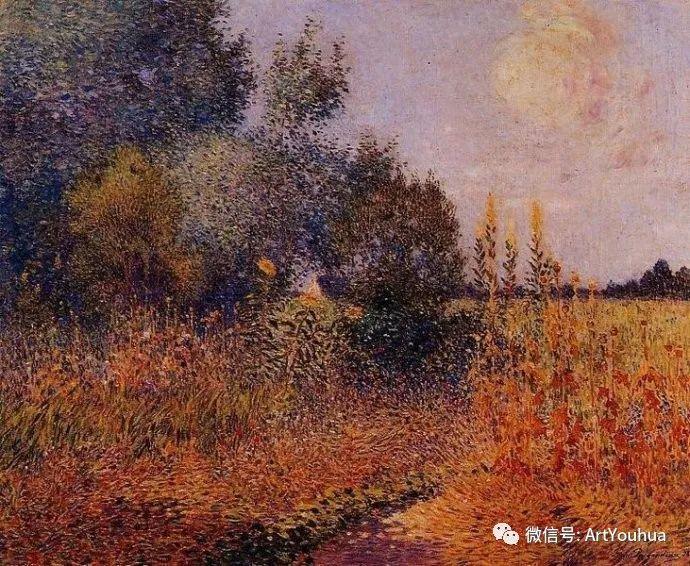 后印象派 法国画家Ferdinand Loyen du Puigaudeau插图43