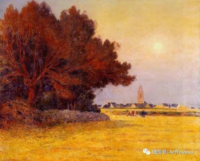 后印象派 法国画家Ferdinand Loyen du Puigaudeau插图47