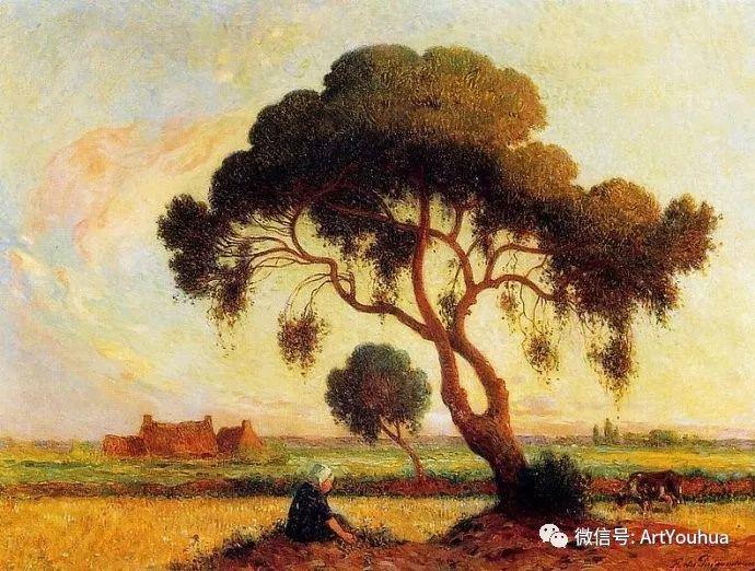 后印象派 法国画家Ferdinand Loyen du Puigaudeau插图53