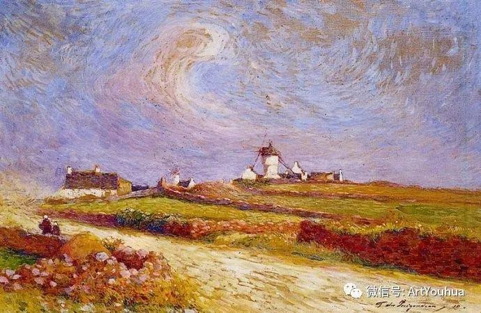 后印象派 法国画家Ferdinand Loyen du Puigaudeau插图55
