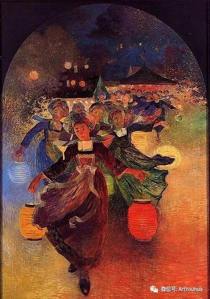 后印象派 法国画家Ferdinand Loyen du Puigaudeau插图57
