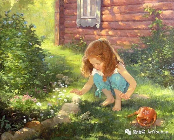 俄罗斯Tatiana Deriy油画作品欣赏插图1