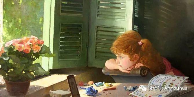 俄罗斯Tatiana Deriy油画作品欣赏插图2