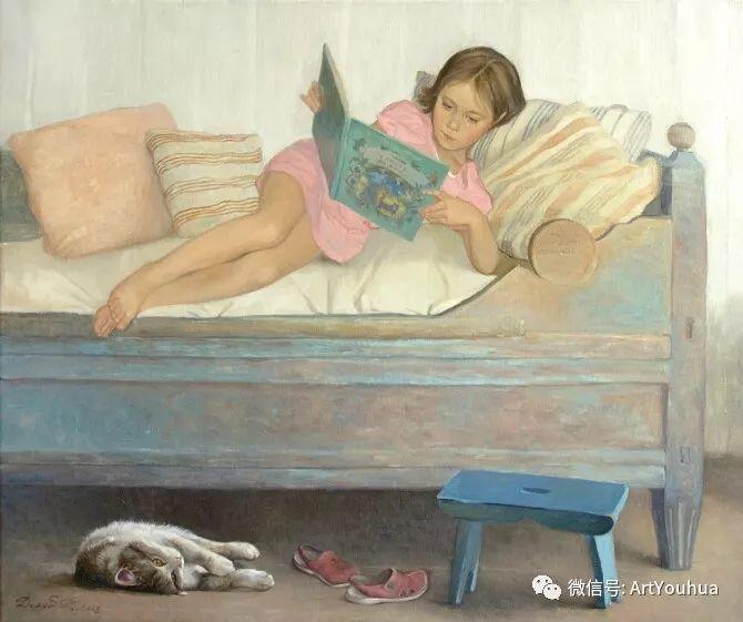 俄罗斯Tatiana Deriy油画作品欣赏插图4
