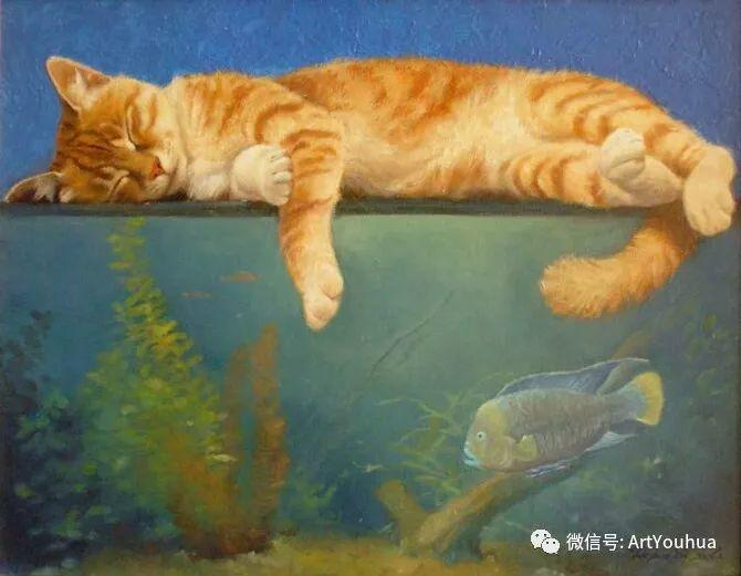 俄罗斯Tatiana Deriy油画作品欣赏插图5
