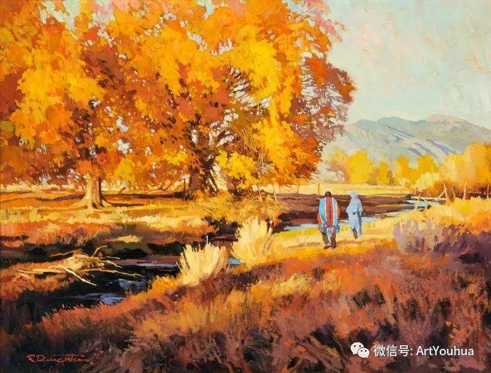 风景油画欣赏 美国画家Robert Daughters插图1