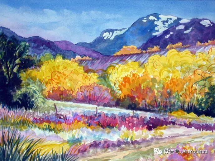 风景油画欣赏 美国画家Robert Daughters插图2