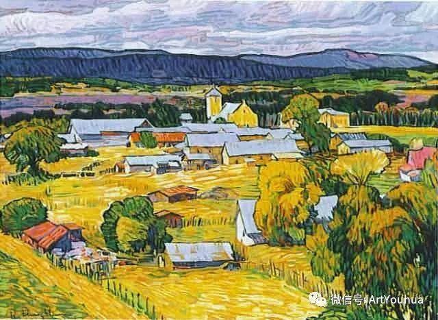风景油画欣赏 美国画家Robert Daughters插图4