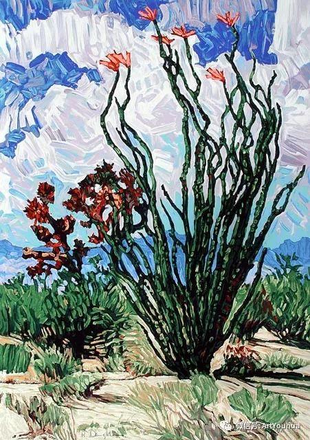 风景油画欣赏 美国画家Robert Daughters插图9