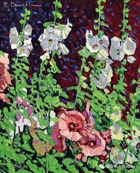 风景油画欣赏 美国画家Robert Daughters插图11