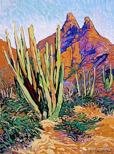 风景油画欣赏 美国画家Robert Daughters插图12