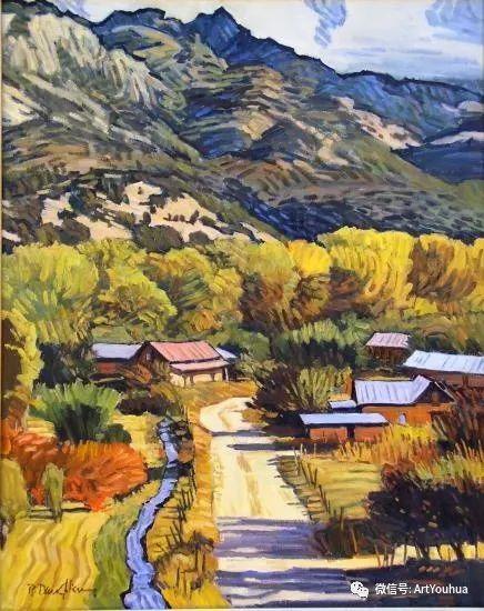 风景油画欣赏 美国画家Robert Daughters插图15