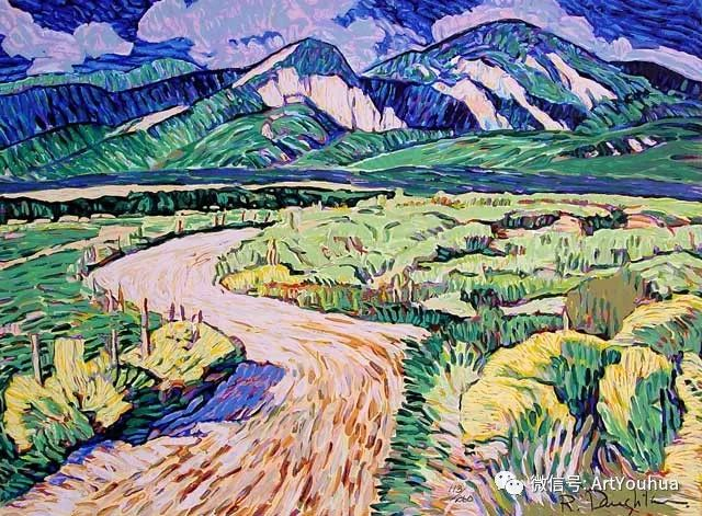 风景油画欣赏 美国画家Robert Daughters插图17