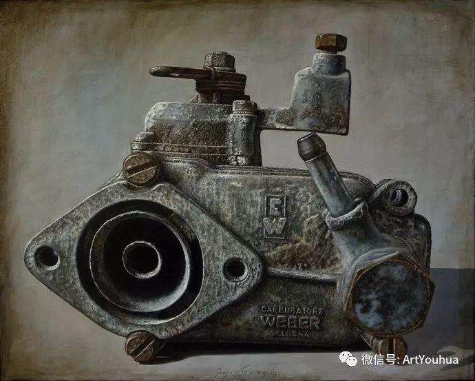 超写实绘画 意大利Gioacchino Passini二插图27