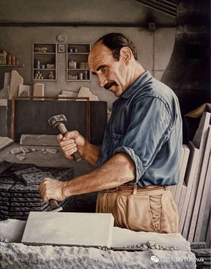 超写实绘画 意大利Gioacchino Passini二插图41