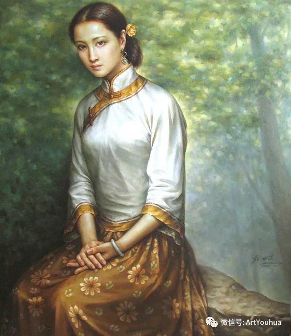 刘世宗人物油画作品欣赏二插图25