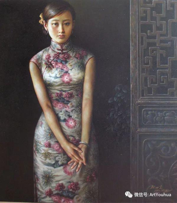 刘世宗人物油画作品欣赏二插图27