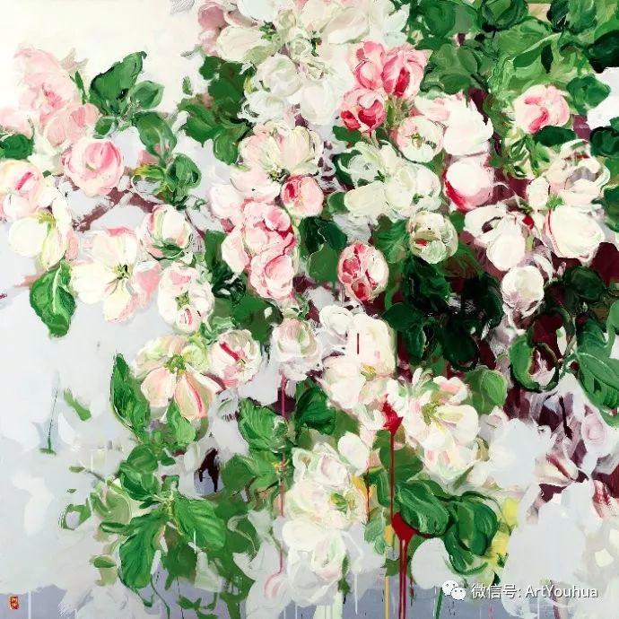 加拿大画家Bobbie Burgers花卉作品欣赏插图5