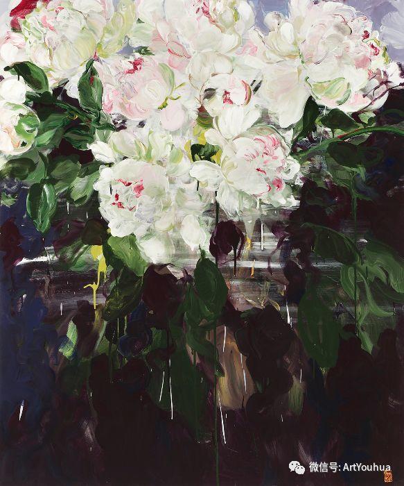 加拿大画家Bobbie Burgers花卉作品欣赏插图13