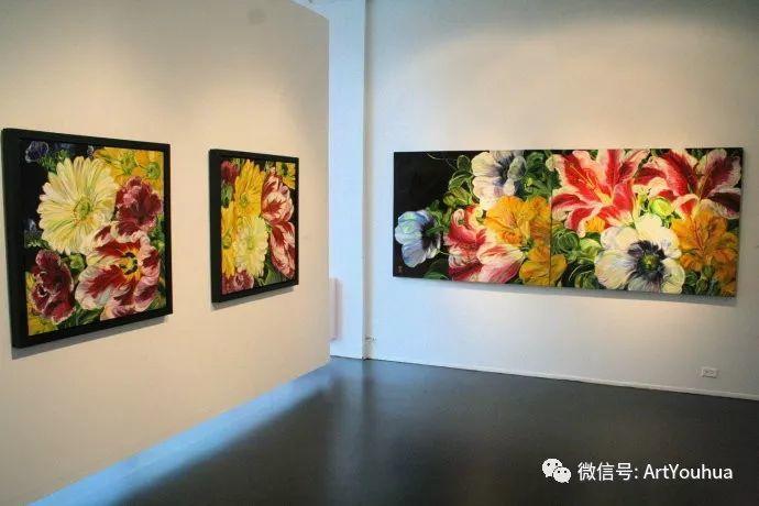 加拿大画家Bobbie Burgers花卉作品欣赏插图15