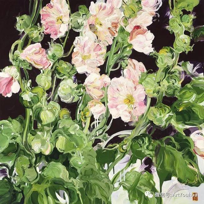 加拿大画家Bobbie Burgers花卉作品欣赏插图23