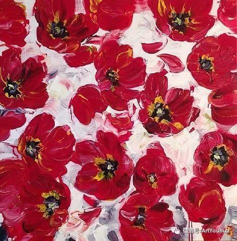 加拿大画家Bobbie Burgers花卉作品欣赏插图43