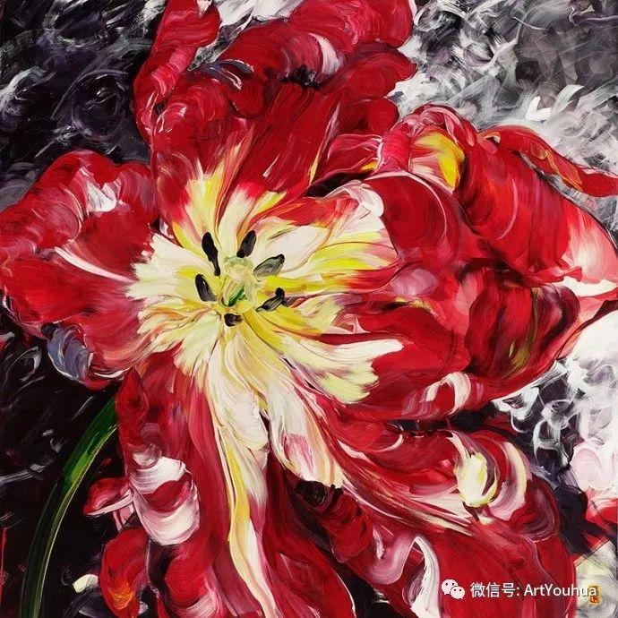 加拿大画家Bobbie Burgers花卉作品欣赏插图53
