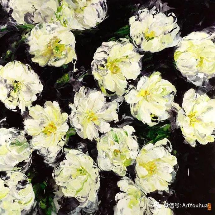 加拿大画家Bobbie Burgers花卉作品欣赏插图57