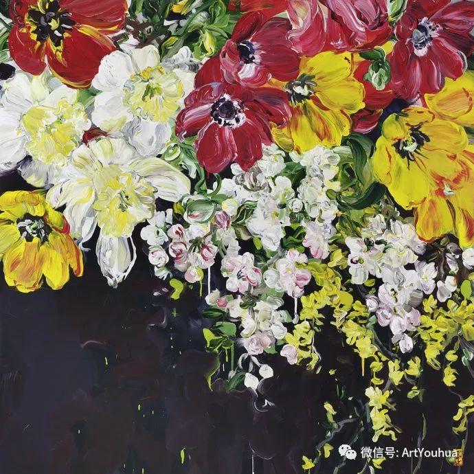 加拿大画家Bobbie Burgers花卉作品欣赏插图65
