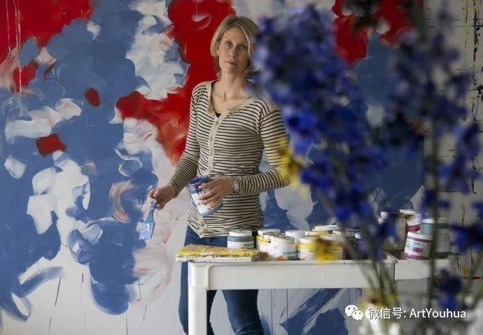 加拿大画家Bobbie Burgers花卉作品欣赏插图87