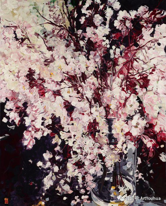 加拿大画家Bobbie Burgers花卉作品欣赏插图89