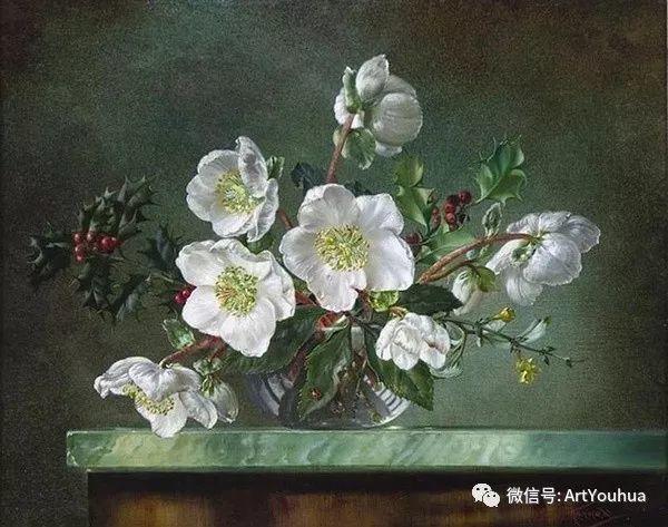 花卉油画 英国画家Cecil Kennedy插图5