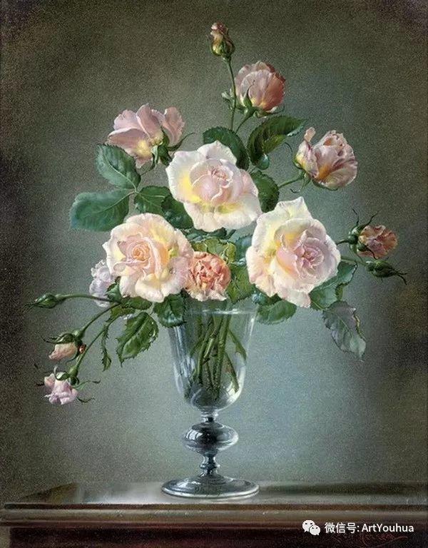 花卉油画 英国画家Cecil Kennedy插图9