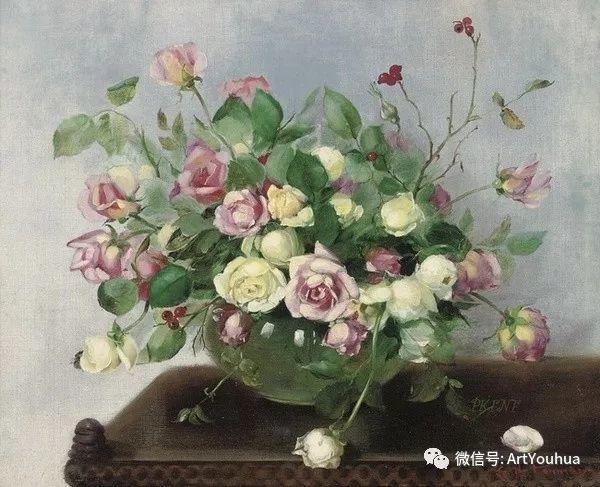 花卉油画 英国画家Cecil Kennedy插图11