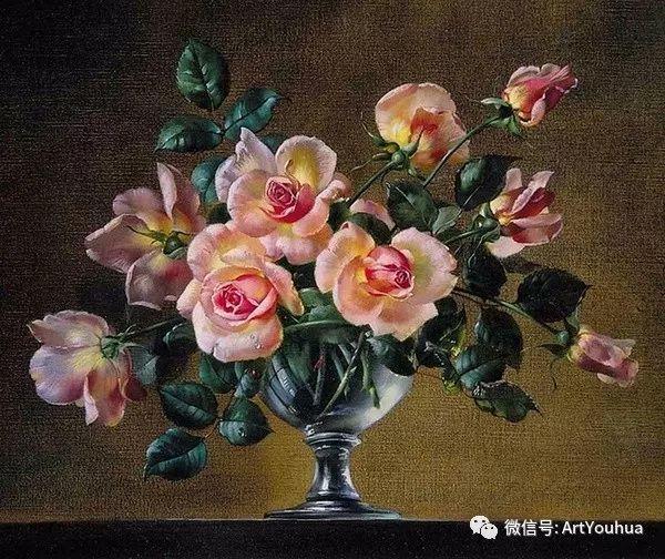 花卉油画 英国画家Cecil Kennedy插图13