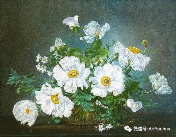 花卉油画 英国画家Cecil Kennedy插图19