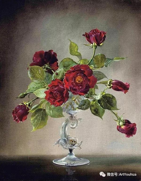 花卉油画 英国画家Cecil Kennedy插图23