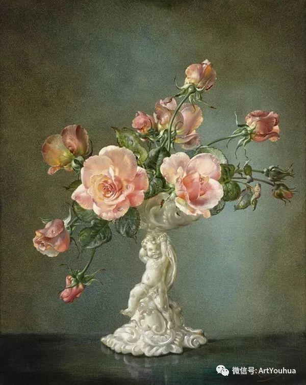 花卉油画 英国画家Cecil Kennedy插图25